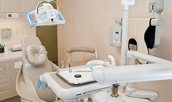 State-of-the-art patient treatment room